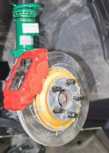 Front disk brakes system repair
